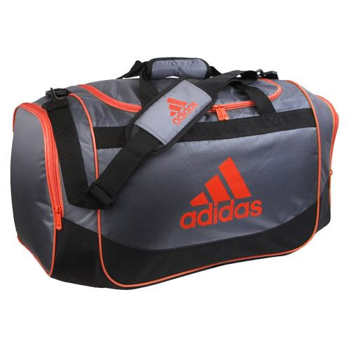 adidas Defender Duffel Medium Bags - Lead/High Energy
