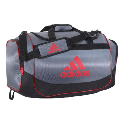adidas Defender Duffel Medium Bags - Lead/Light Scarlet