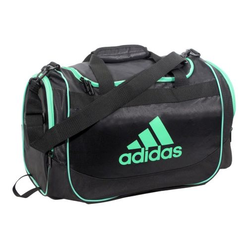 adidas Defender Duffel Small Bags - Black/Green Zest