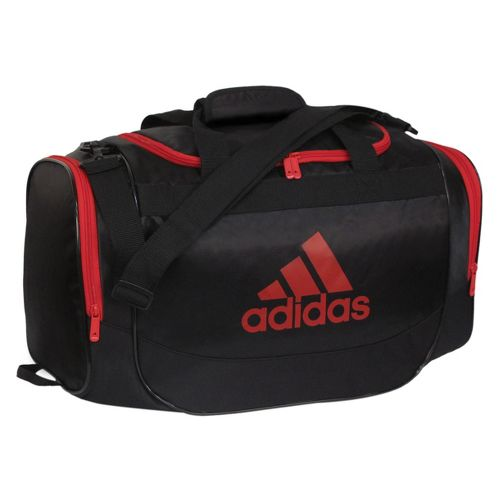 adidas Defender Duffel Small Bags - Black/University Red