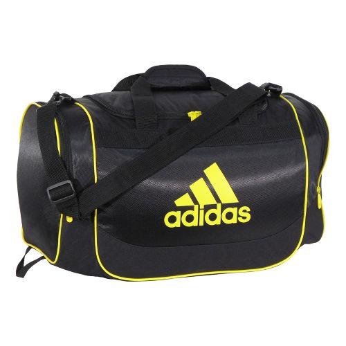 adidas Defender Duffel Small Bags - Black/Vivid Yellow