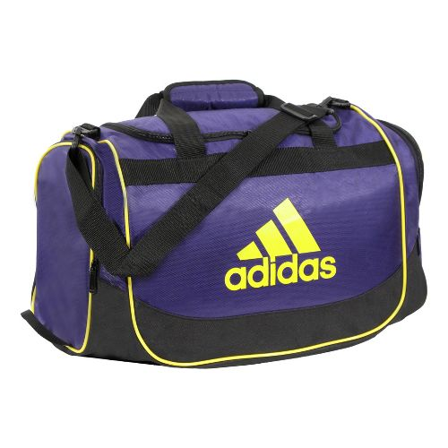 adidas Defender Duffel Small Bags - Collegiate Purple/Vivid Yellow