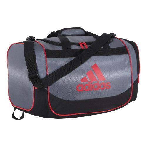 adidas Defender Duffel Small Bags - Lead/Light Scarlet