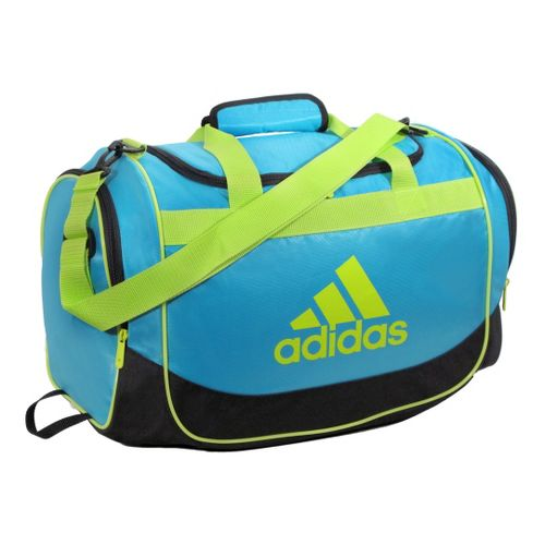 adidas Defender Duffel Small Bags - Super Cyan/Electricity