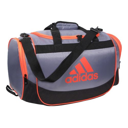 adidas Defender Duffel Small Bags - Tech Grey/Infrared