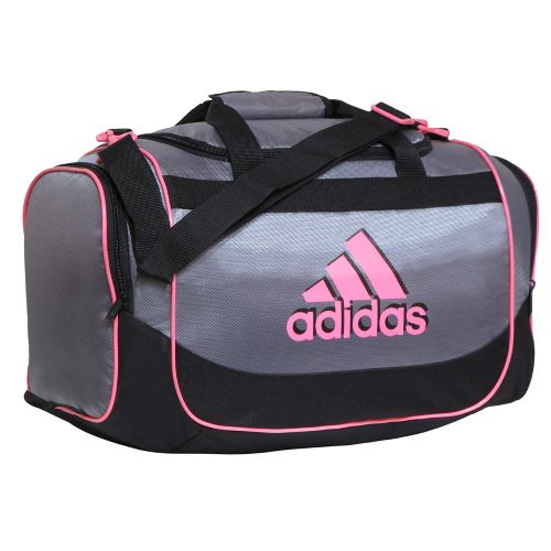 adidas Defender Duffel Small Bags - Tech Grey/Ultra Pop