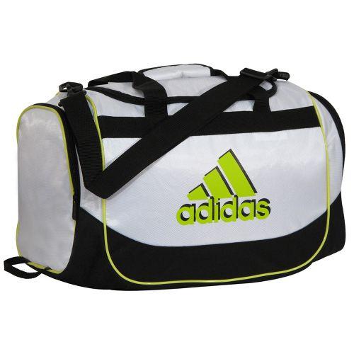adidas Defender Duffel Small Bags - White/Lab Lime