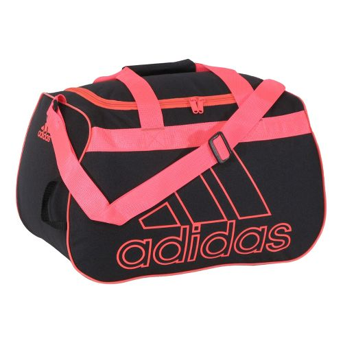 adidas Diablo Small Duffel Bags - Black/Red Zest