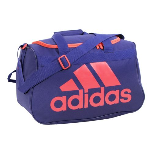 adidas Diablo Small Duffel Bags - Blast Purple/Red Zest