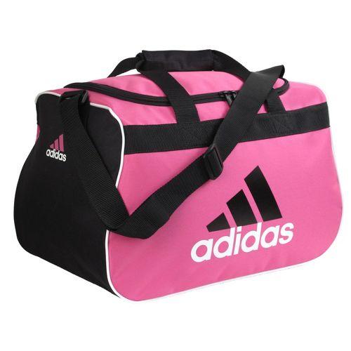 adidas Diablo Small Duffel Bags - Intense Pink/Black