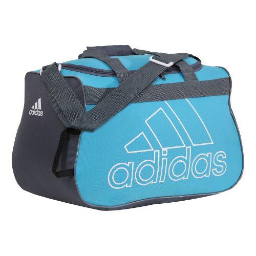 adidas Diablo Small Duffel Bags - Super Cyan/Lead