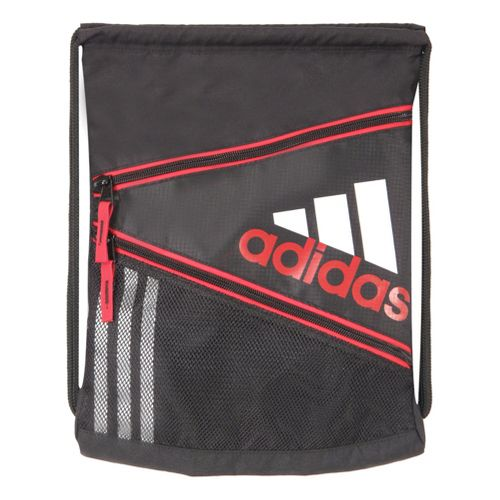 adidas Closer Sackpack Bags - Black/Light Scarlet