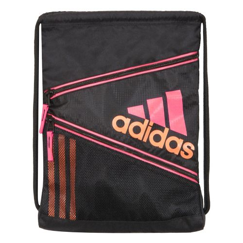 adidas Closer Sackpack Bags - Black/Ultra Pop