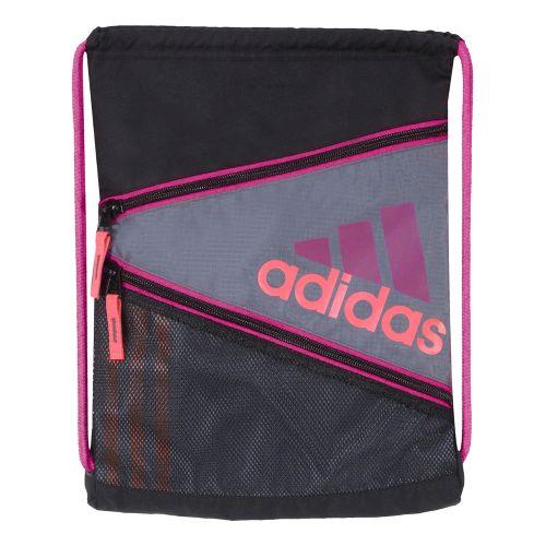 adidas Closer Sackpack Bags - Lead/Vivid Pink