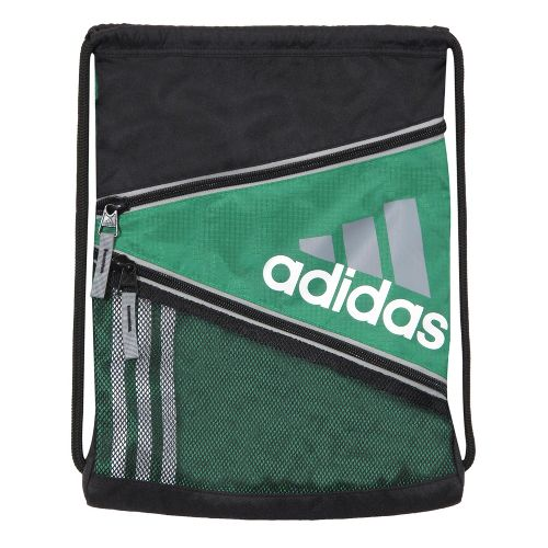 adidas Closer Sackpack Bags - Prime Green/Aluminum