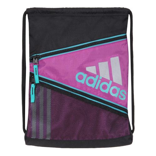 adidas Closer Sackpack Bags - Ultra Purple/Hyper Green