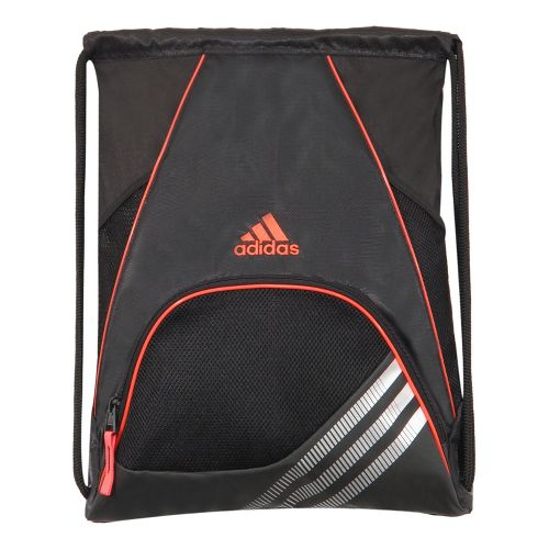 adidas Team Speed Sackpack Bags - Black/Infra-Red