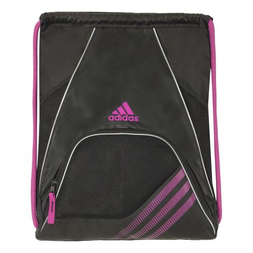 adidas Team Speed Sackpack Bags - Black/Vivid Pink