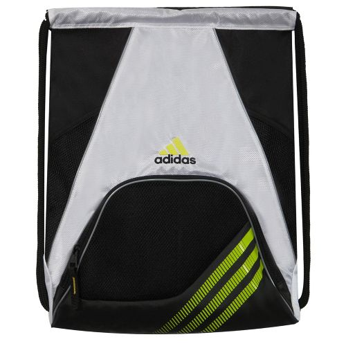 adidas Team Speed Sackpack Bags - White/Lab Lime