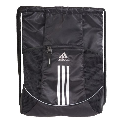 adidas Alliance Sport Sackpack Bags - Black/Silver