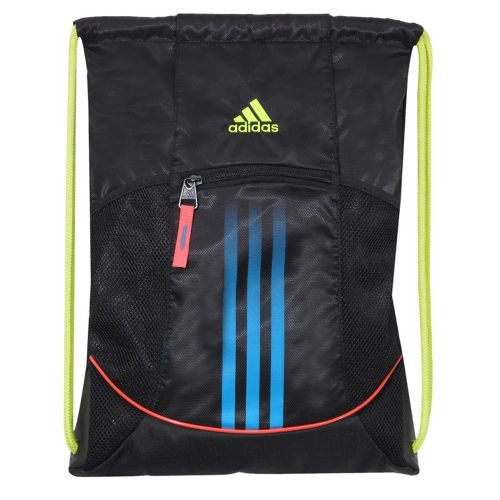 adidas Alliance Sport Sackpack Bags - Black/Ultra Pop