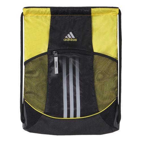 adidas Alliance Sport Sackpack Bags - Black/Vivid Yellow