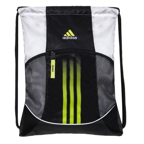 adidas Alliance Sport Sackpack Bags - Black/White