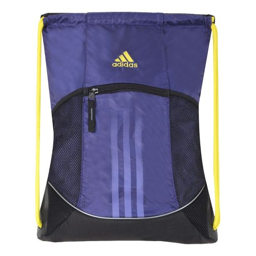 adidas Alliance Sport Sackpack Bags - Collegiate Purple/Vivid Yellow
