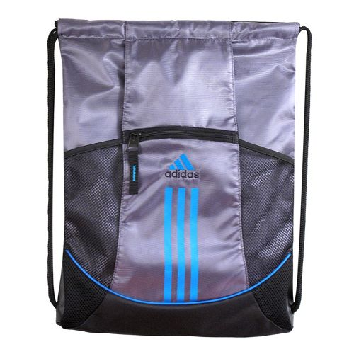 adidas Alliance Sport Sackpack Bags - Lead/Sharp Blue