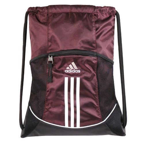 adidas Alliance Sport Sackpack Bags - Light Maroon