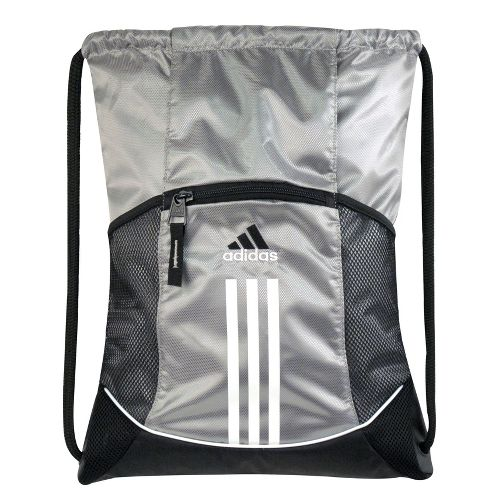 adidas Alliance Sport Sackpack Bags - Platinum