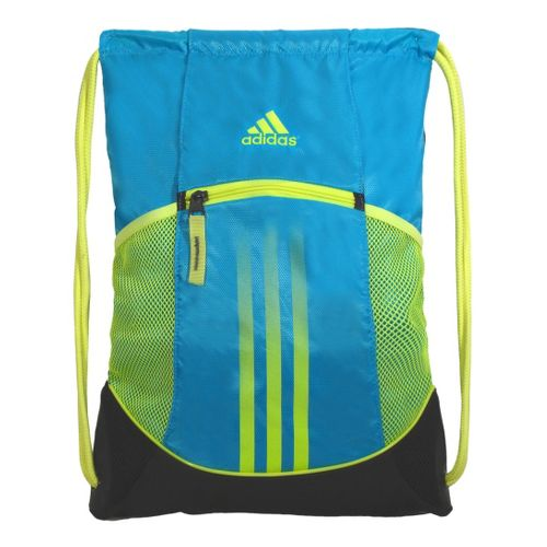 adidas Alliance Sport Sackpack Bags - Super Cyan/Electricity