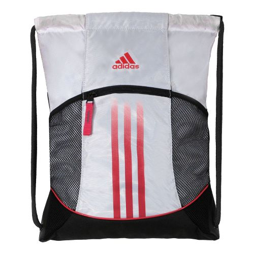 adidas Alliance Sport Sackpack Bags - White/Blaze Pink