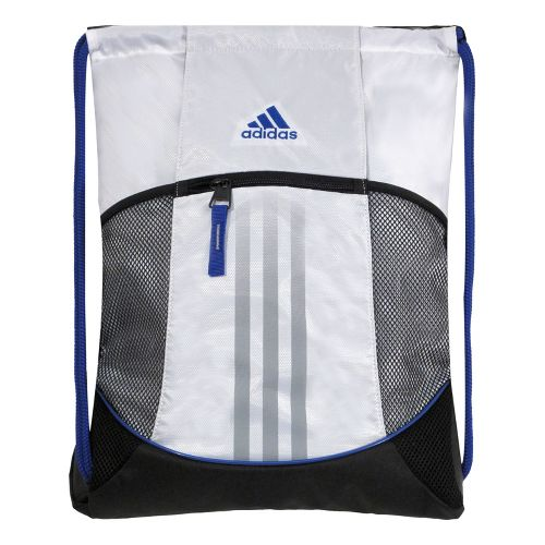 adidas Alliance Sport Sackpack Bags - White/Cobalt