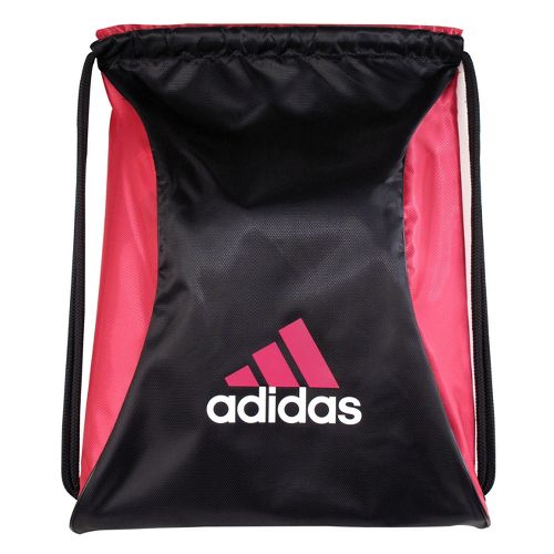 adidas Block Sackpack Bags - Black/Radiant Pink