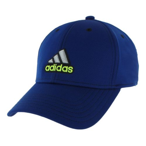 Mens adidas Closer Stretch Cap Headwear - Night Blue/Black S/M