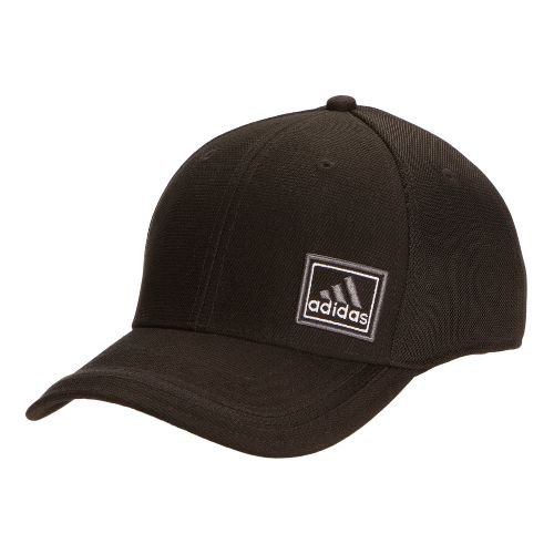 Mens adidas Prospect Stretch Cap Headwear - Black/Black S/M