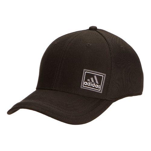 Mens adidas Prospect Stretch Cap Headwear - Black/Black XXL