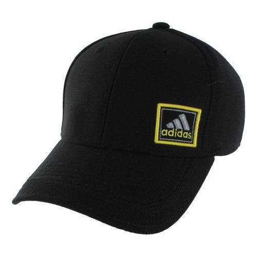 Mens adidas Prospect Stretch Cap Headwear - Black/Dark Onyx S/M