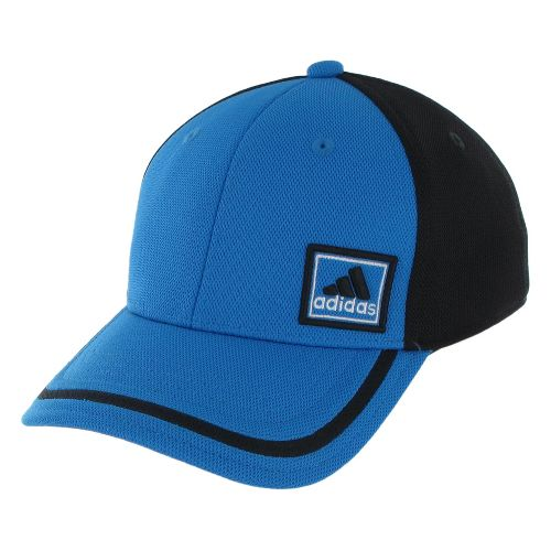 Mens adidas Prospect Stretch Cap Headwear - Bright Blue/Black L/XL
