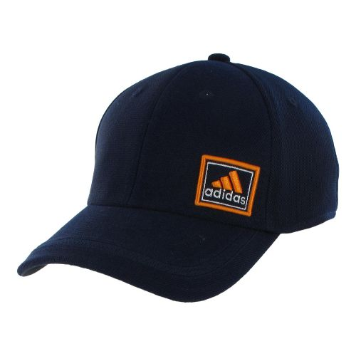 Mens adidas Prospect Stretch Cap Headwear - Collegiate Navy/Dark Onix S/M