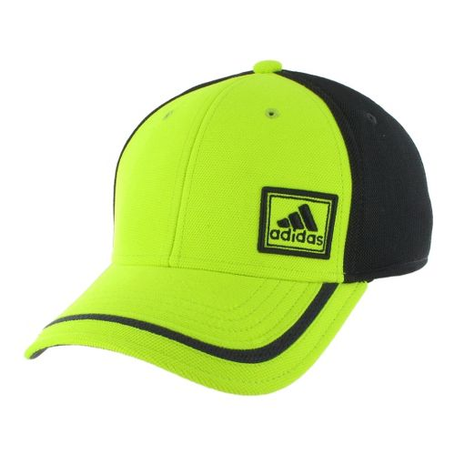 Mens adidas Prospect Stretch Cap Headwear - Electricity/Solid Grey L/XL