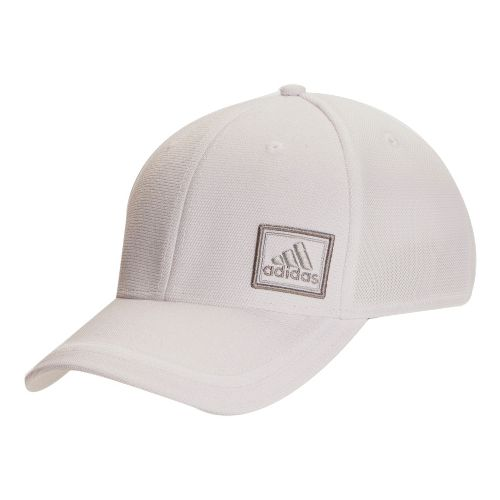 Mens adidas Prospect Stretch Cap Headwear - White/White S/M