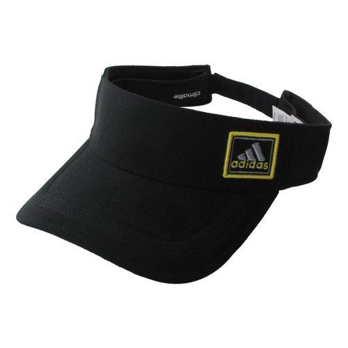 Mens adidas Prospect Visor Headwear - Black/Dark Onyx