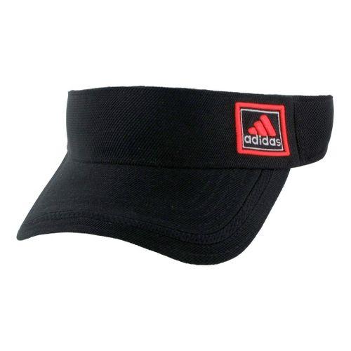Mens adidas Prospect Visor Headwear - Black/Inferno