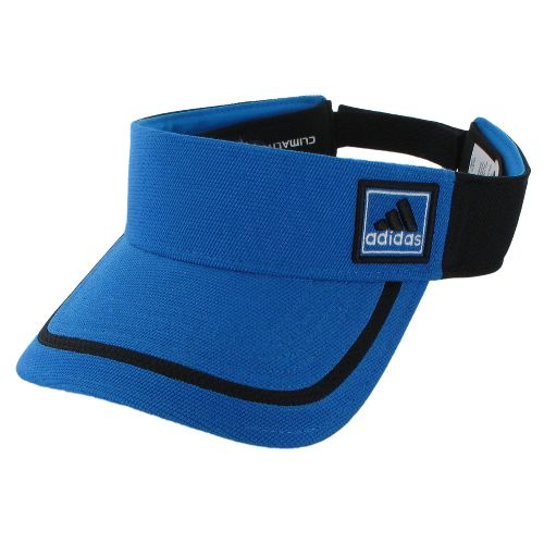 Mens adidas Prospect Visor Headwear - Bright Blue/Black