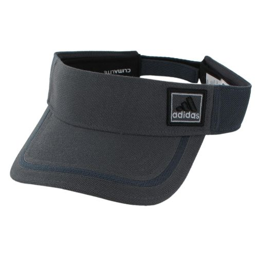 Mens adidas Prospect Visor Headwear - Sharp Grey/Solid Grey