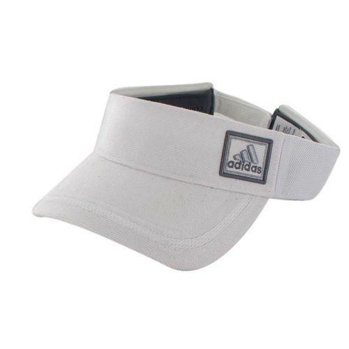 Mens adidas Prospect Visor Headwear - White/White