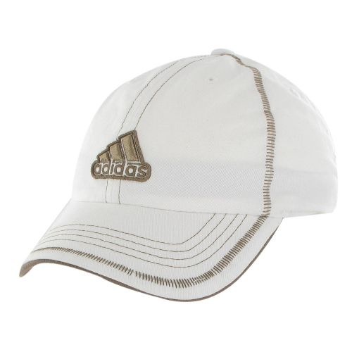 Womens adidas Sol Cap Headwear - White/Base Khaki