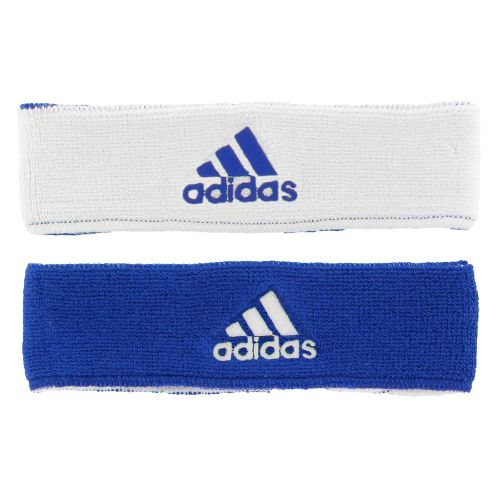 adidas Interval Reversible Headband Headwear - Collegiate Royal/White
